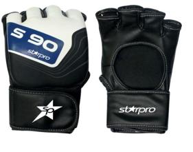 MMA-handschoen Starpro S90 | zwart-wit-blauw