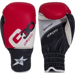 Bokshandschoenen voor kinderen Starpro G30 | rood-wit-zwart