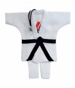 Mini-judopak Adidas | wit