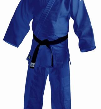 Judopak Adidas voor beginners en kinderen   J350   blauw
