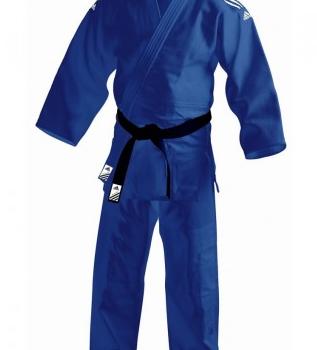 Judopak Adidas wedstrijden en trainingen   J690   blauw