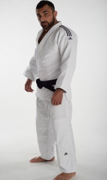 Judopak Adidas Champion II   IJF-goedgekeurd   wit
