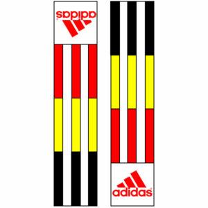 Adidas-schouderlabels voor je judopak   Belgische vlag