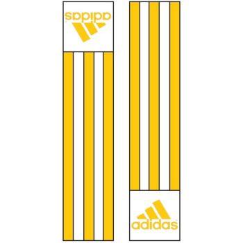 Adidas-schouderlabels voor je judopak | goudkleur