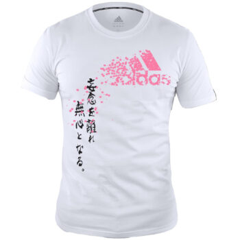 Graphic T- shirt White Pink