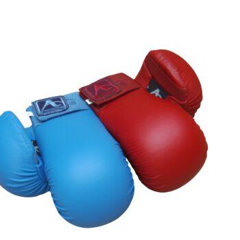Karate-handschoenen (mitts) Arawaza | rood of blauw