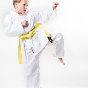 Karatepak voor beginners Arawaza | WKF-approved | wit