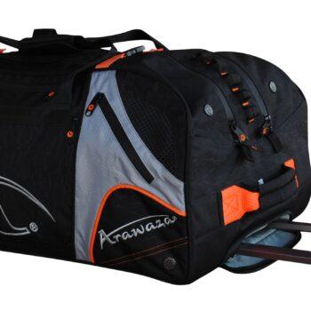 Multifunctionele sporttrolley Arawaza | zwart-oranje