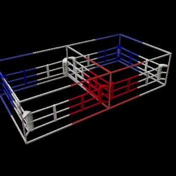 Dubbele boksring Stedyx | mobiel & lichtgewicht
