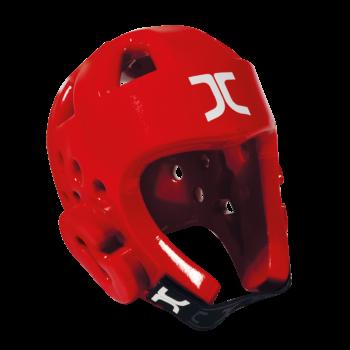 Taekwondo-hoofdbeschermer JCalicu | WT-goedgekeurd | rood