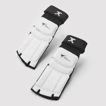 Taekwondo-voetbeschermers JCalicu | WT-goedgekeurd | wit