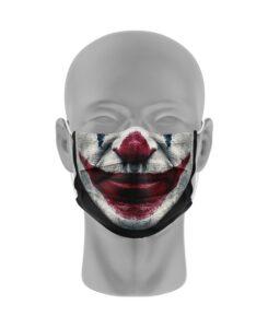 Mondmasker (herbruikbaar) Nihon   clownsgezicht-print