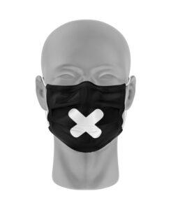 Mondmasker (herbruikbaar) Nihon | x-print | zwart-wit