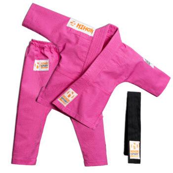 Baby-judopak Nihon Baby Gi | roze