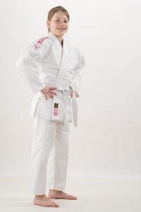 Judopak Nihon Rei voor kinderen en recreanten | roze