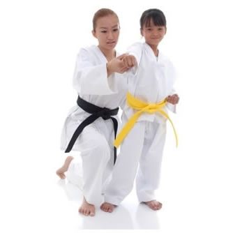 Karatepak voor beginners en kinderen Nihon | wit