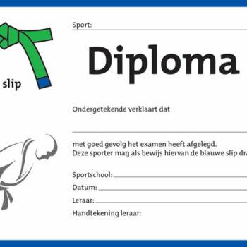 Diploma Groen/Blauw