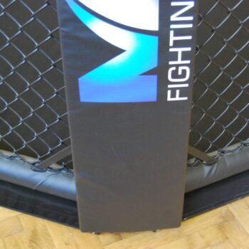 MMA-octagon hoekkussen Stedyx | printed corner pvc