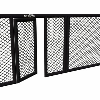 MMA-trainingsmuur Stedyx | 4-zijdige padding met deur