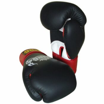 Top King muay thai Boxing gloves ''air'' B/R/W 123 (OP=OP)
