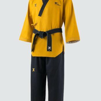 Poomsae taekwondopak JC hoge dan | WT | goudkleurig