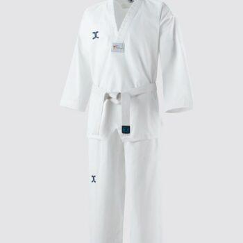 Taekwondo-pak (dobok) voor beginners JC-Club | WT | wit